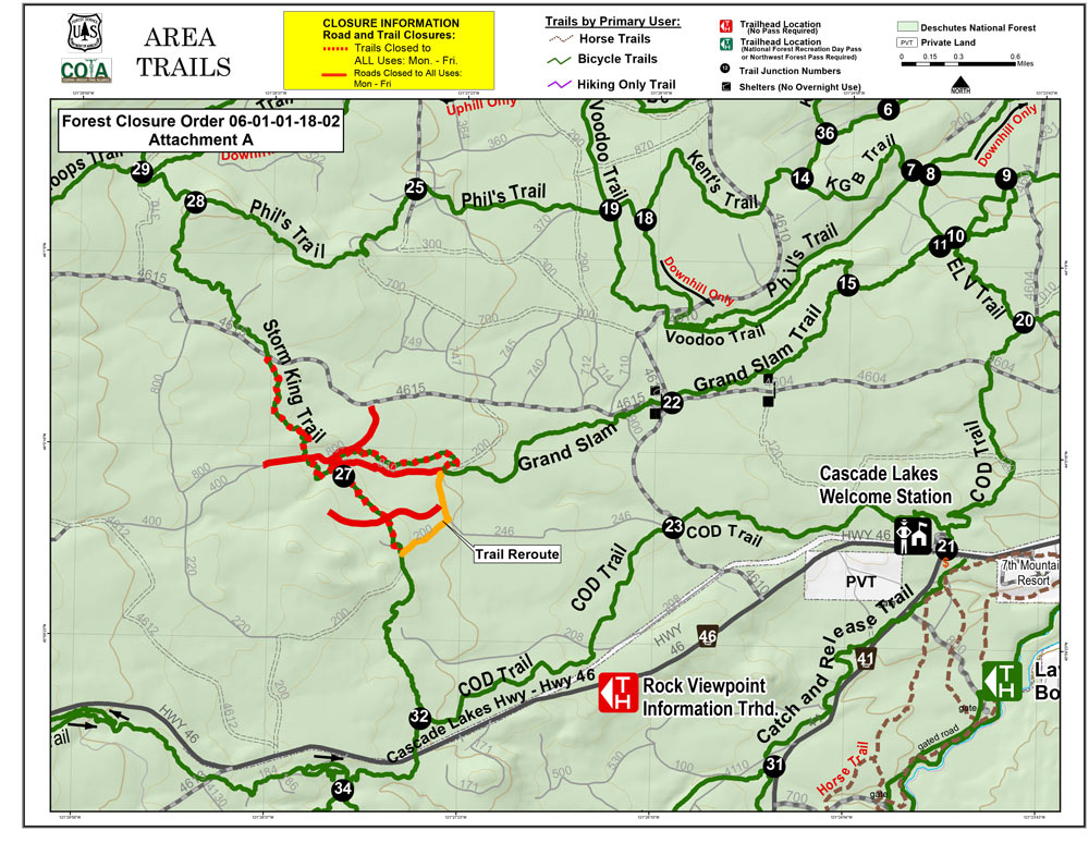 storm king grand slam trail closure map