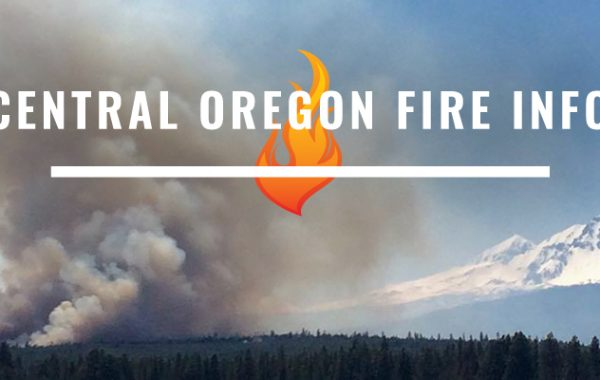 Central Oregon Fire Information website
